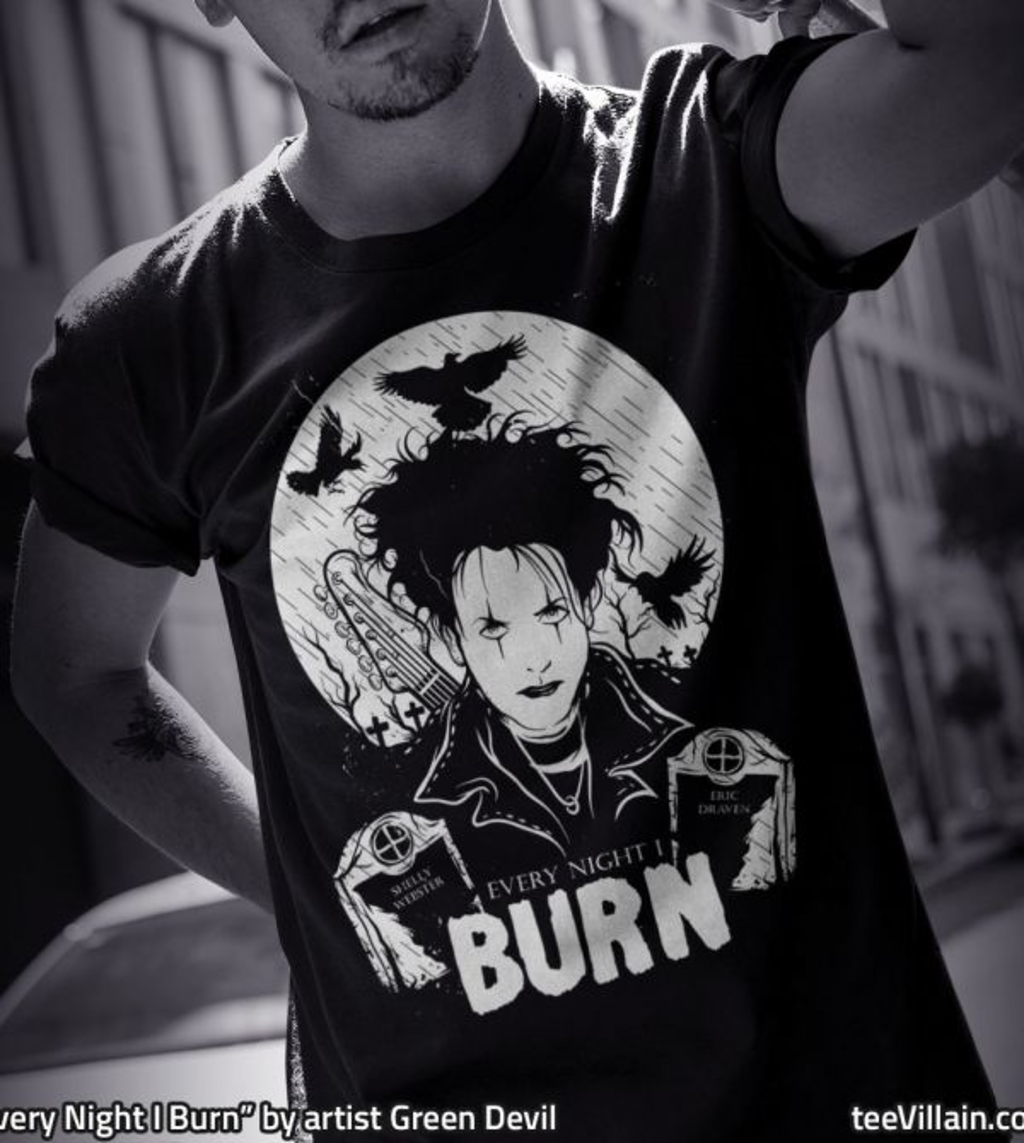 teeVillain: every night I burn