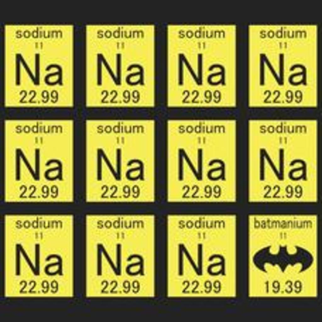 Textual Tees: Na Na Na Na Batman T-Shirt