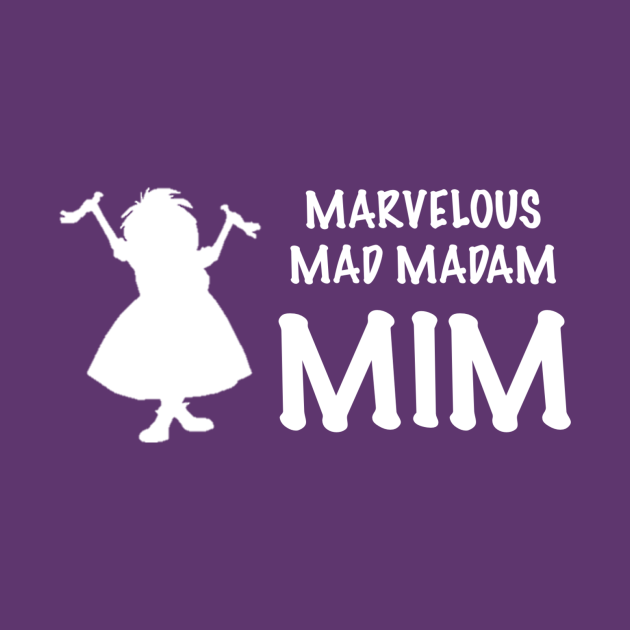 TeePublic: Mad Madam Mim Sword in the Stone