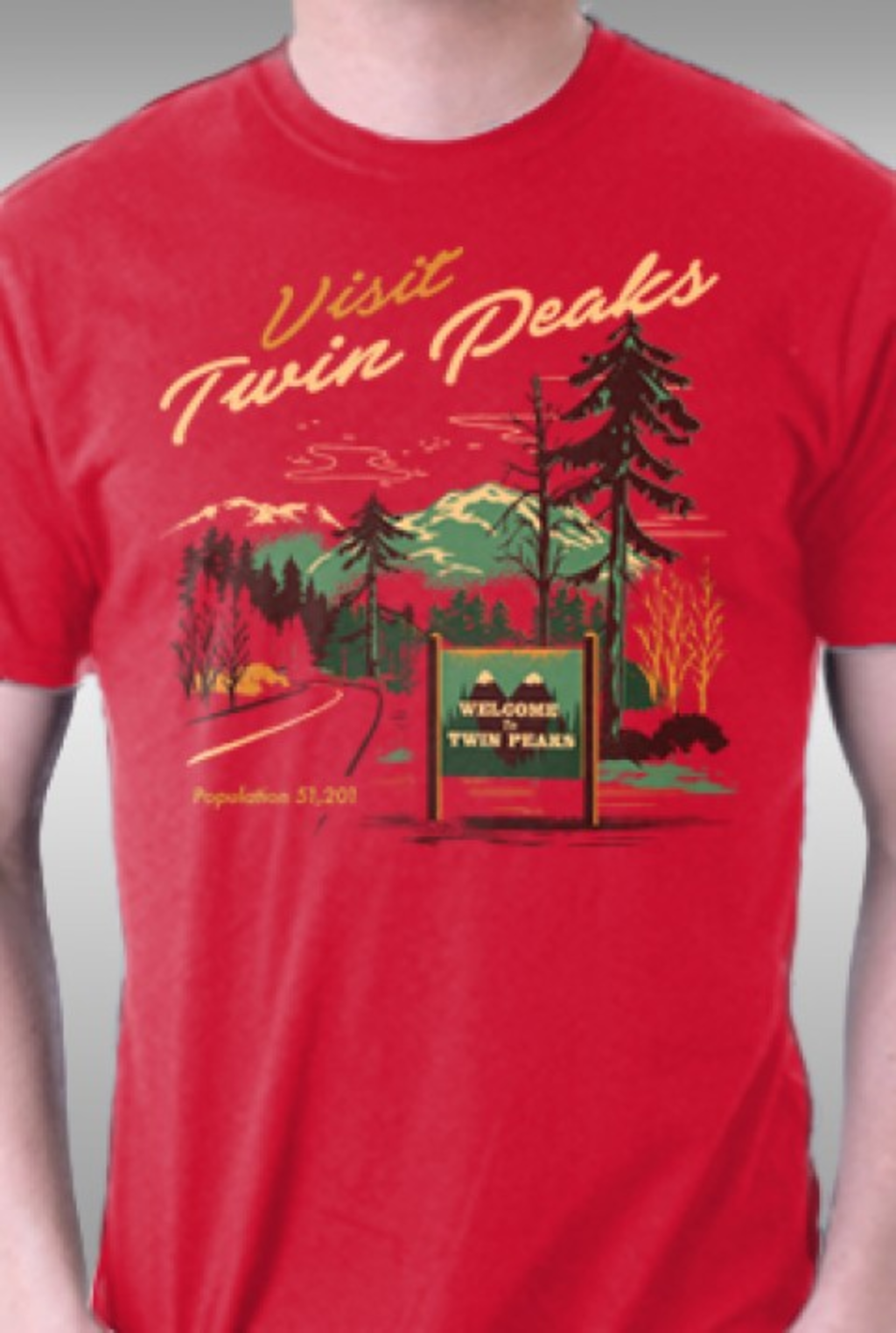 TeeFury: Small Town Travel