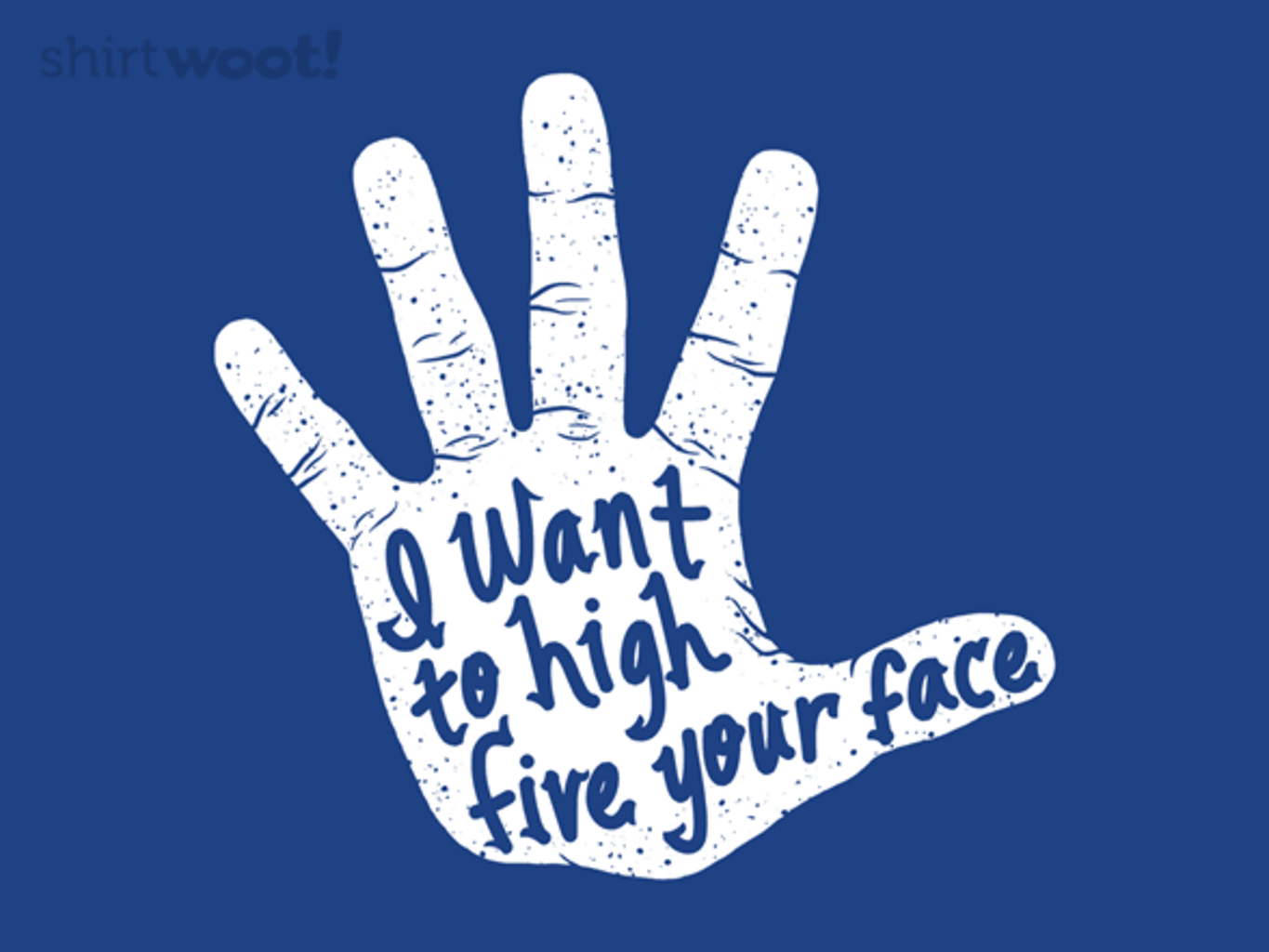 Woot!: Hand to Face - $15.00 + Free shipping