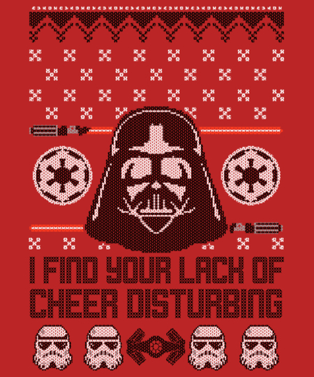 Qwertee: A Dark Lord Christmas