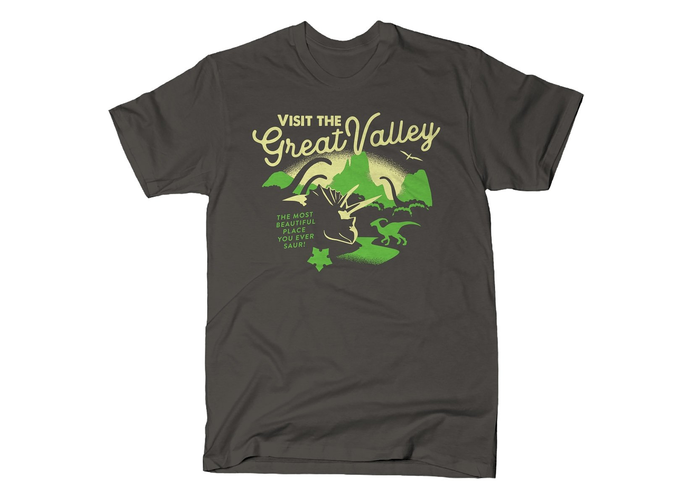 SnorgTees: Visit The Great Valley