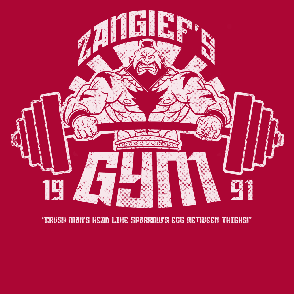 Pop-Up Tee: Zangief Gym