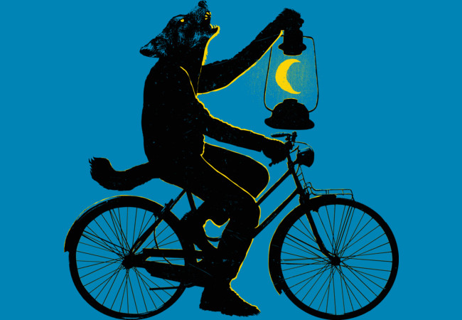 Design by Humans: Ride With The Moon