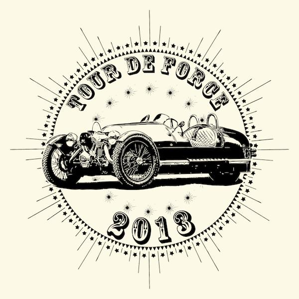 NeatoShop: Vintage Classic Car 2013 Tour De Force Tree Wheeler