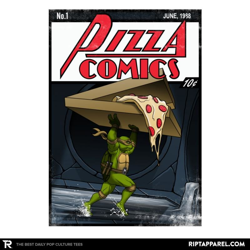 Ript: Pizza Comics - Featuring Michelangelo