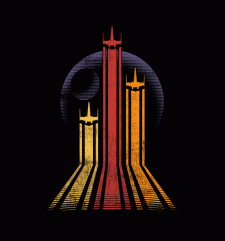 BustedTees: Retro Galactic