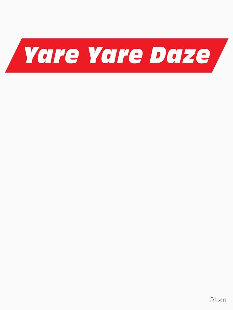 RedBubble: Yare Yare Daze (Jotaro Catchphrase)