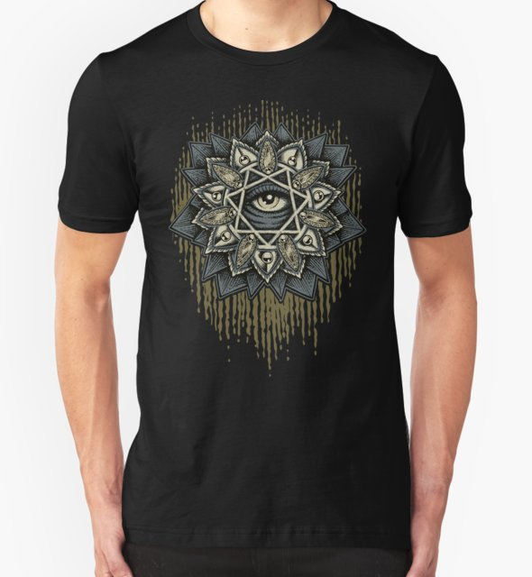 RedBubble: Seven Rays Eye