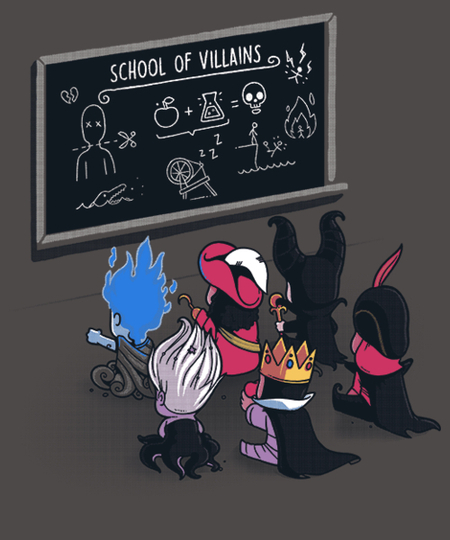 Qwertee: School Of Villains