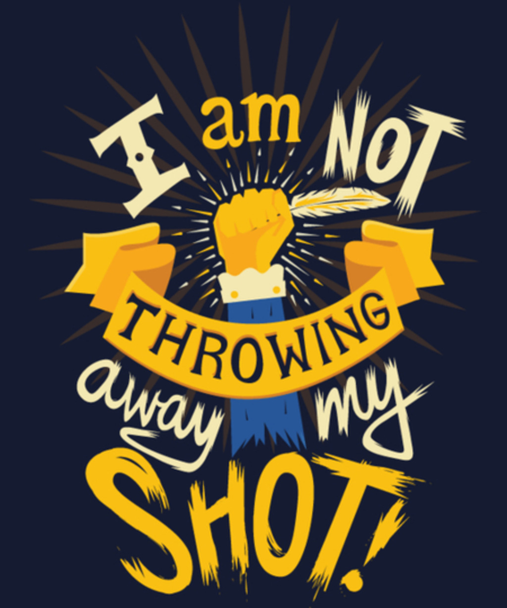 Qwertee: My Shot
