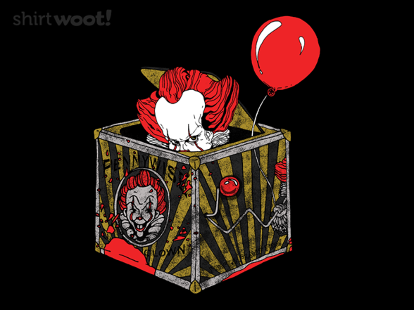 Woot!: Pennywise-in-the-Box