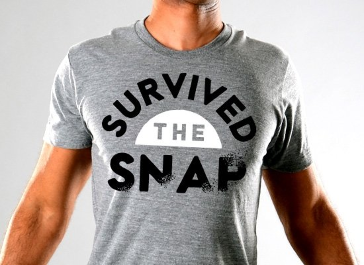 SnorgTees: Survived The Snap Limited Edition Tri-Blend