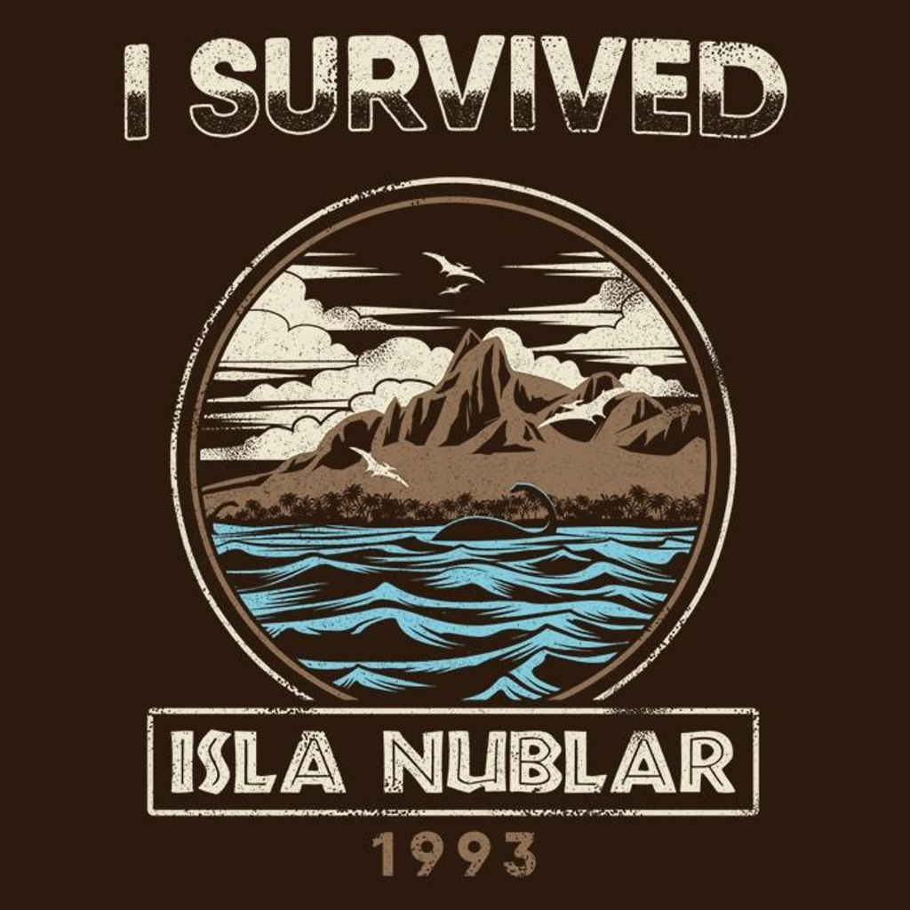 Once Upon a Tee: I Survived Isla Nublar - Women's Apparel
