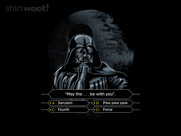 Woot!: Darth Wants to Be a Millionaire