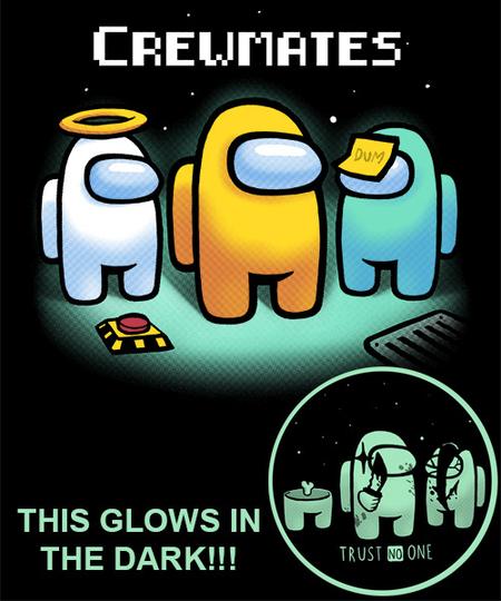 Qwertee: Dark Crewmates