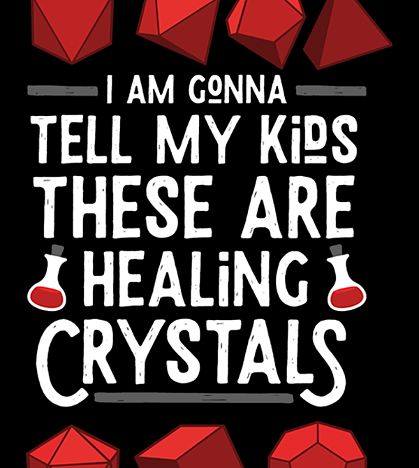 teeVillain: Healing Crystals