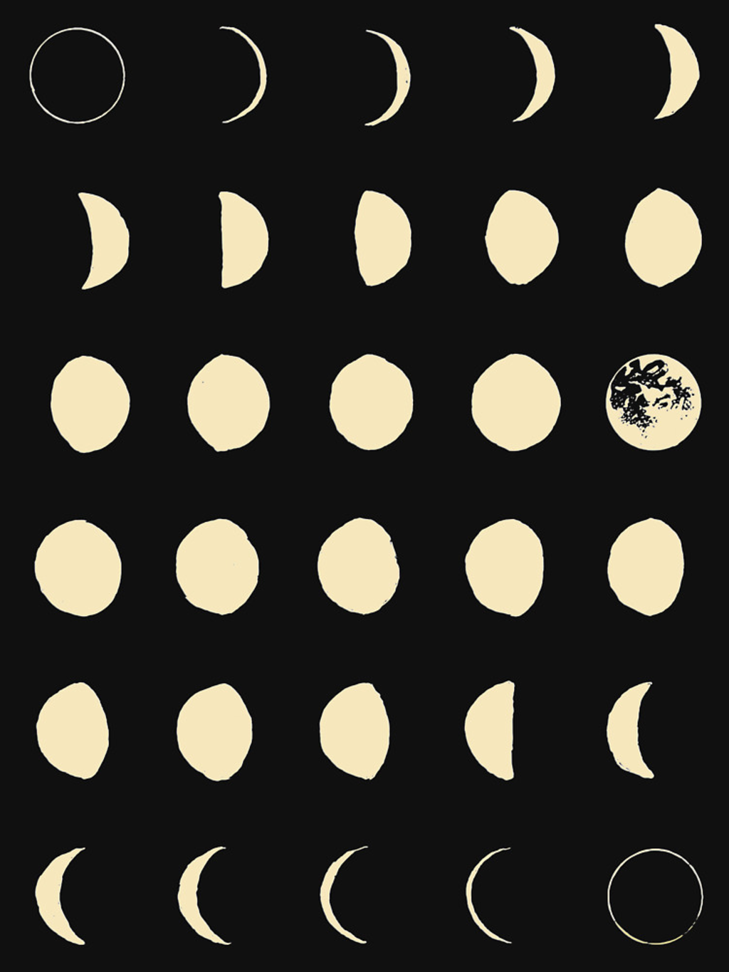 RedBubble: Moon Phases