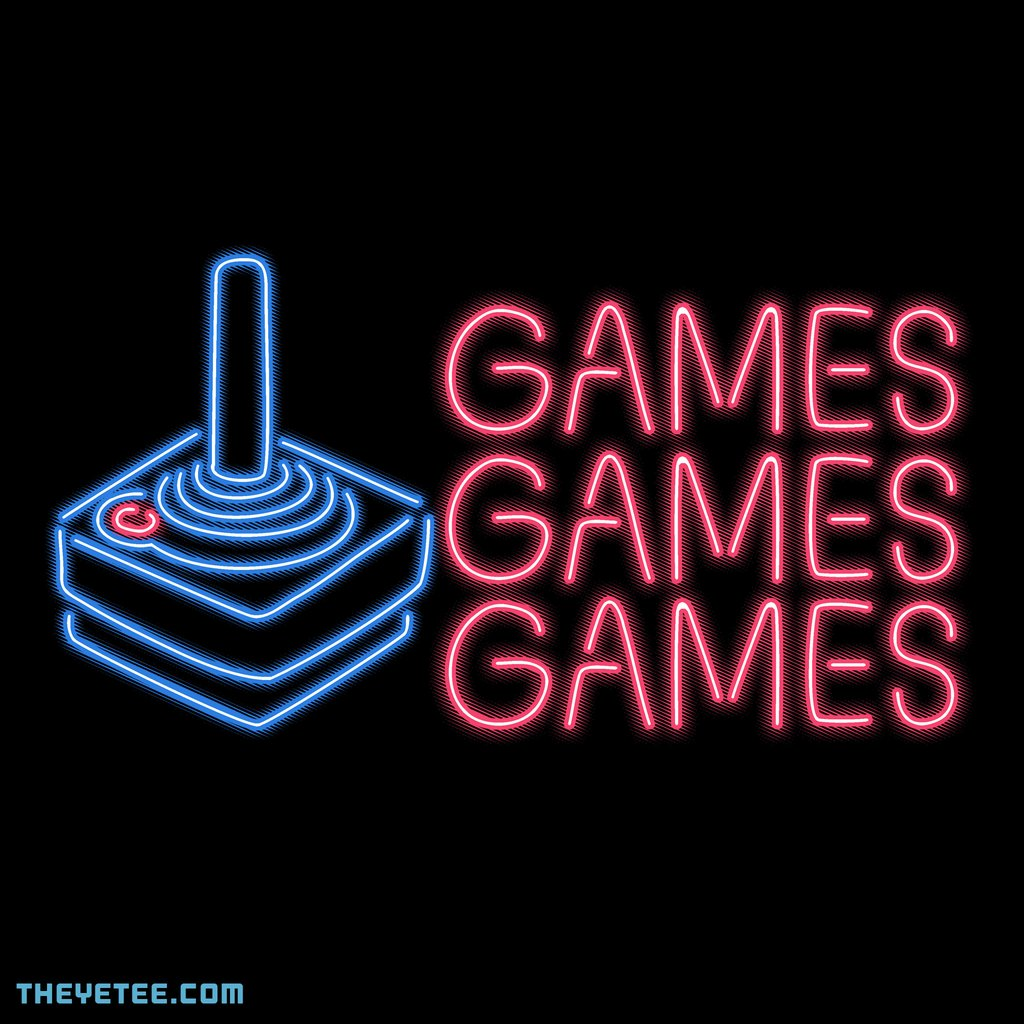 The Yetee: Games Games Games by Hillary White