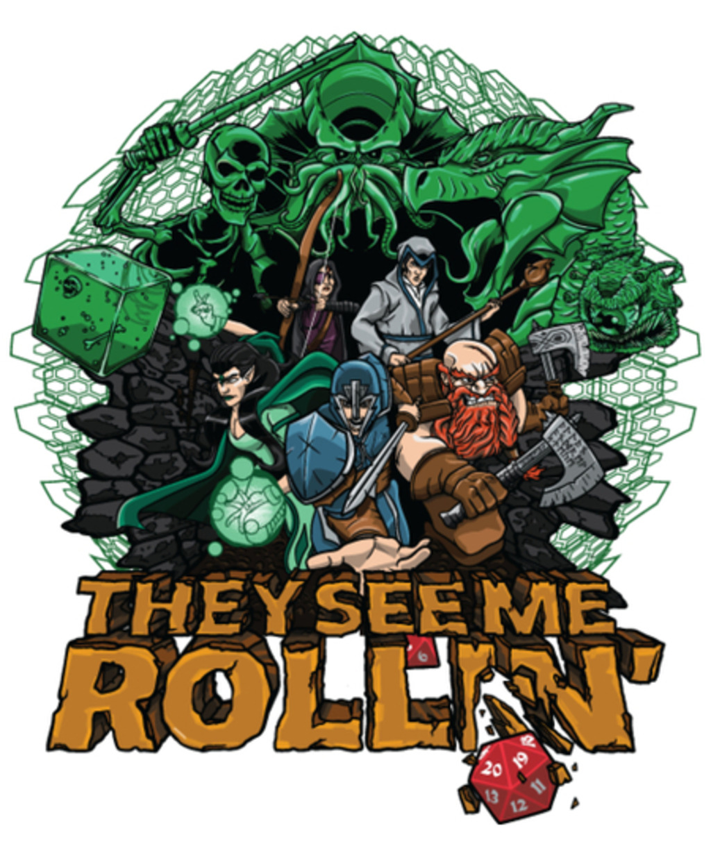 Qwertee: See Me Roll