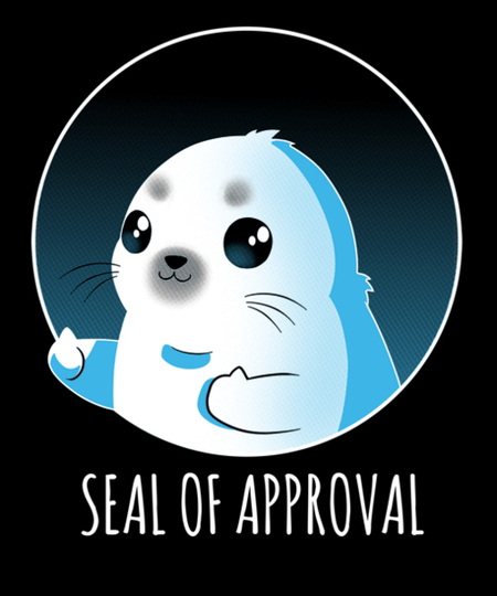 Qwertee: Seal of Approval