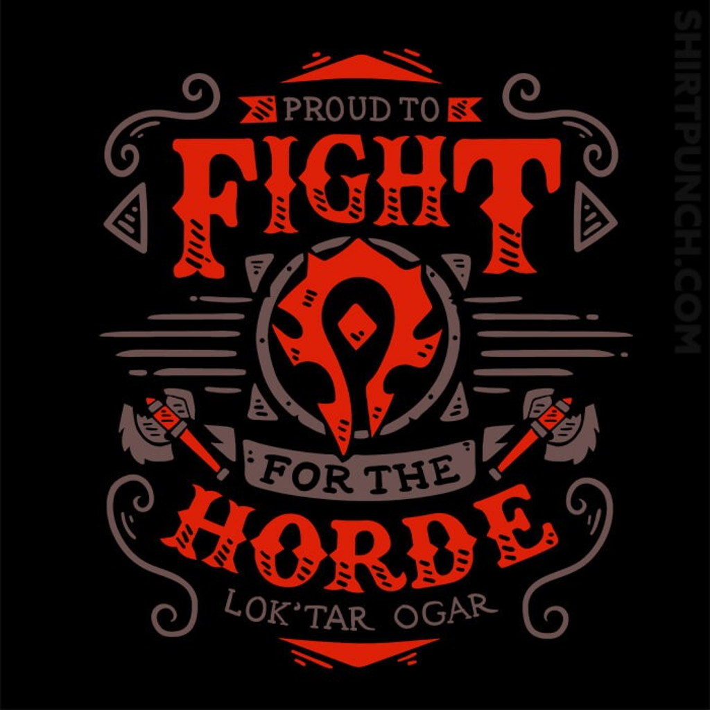 ShirtPunch: Fight For The Horde