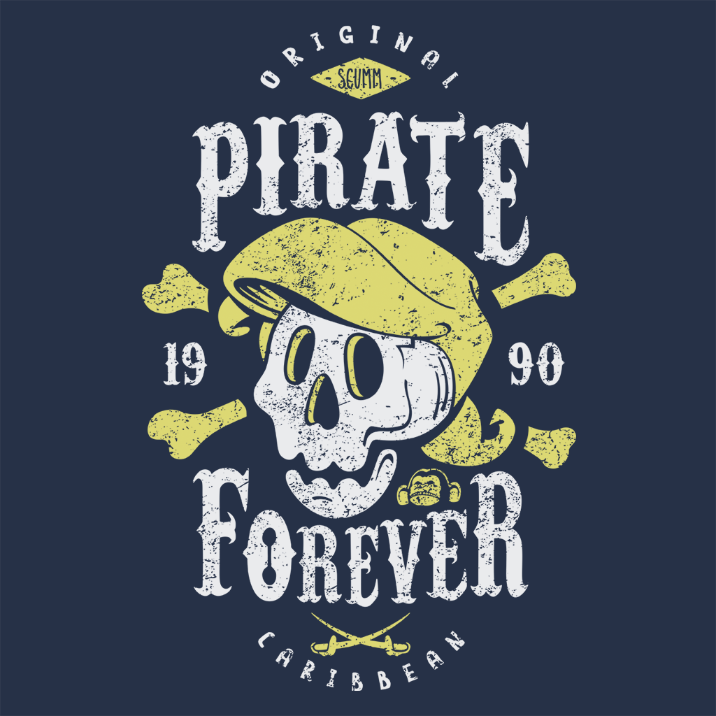 Pop-Up Tee: Pirate Forever