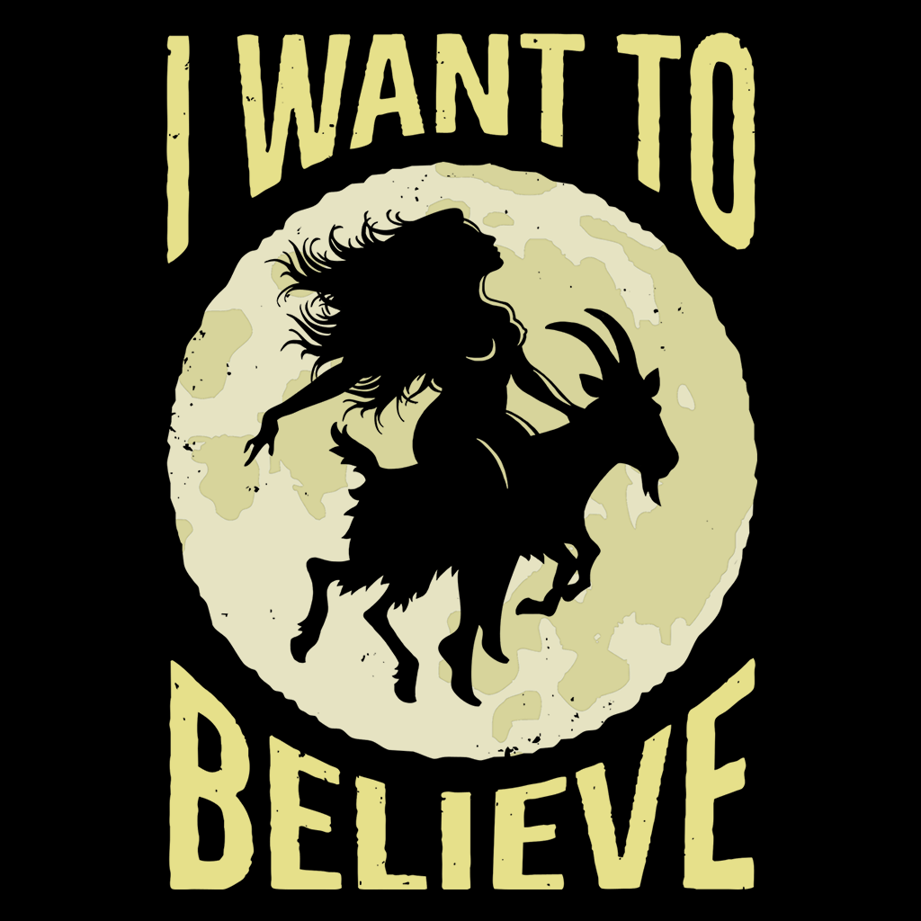 Pop-Up Tee: 1.4 Believe Witches