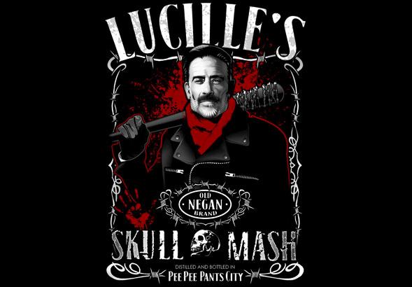 teeVillain: Lucille's Skull Mash