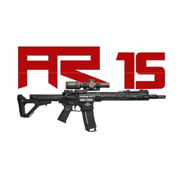 TeePublic: AR 15 in 5.56 and 16inch