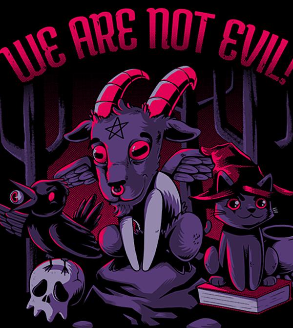 teeVillain: Not Evil