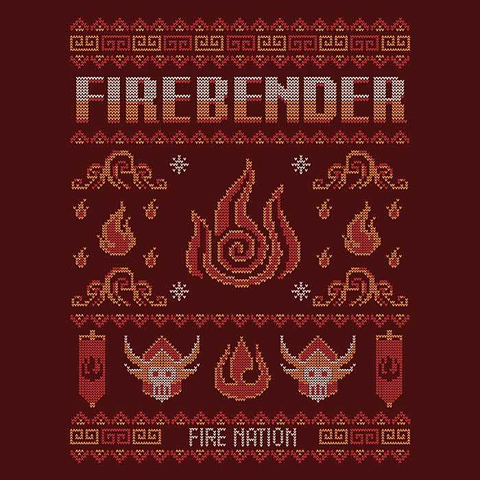 Once Upon a Tee: Fire Nation's Sweater