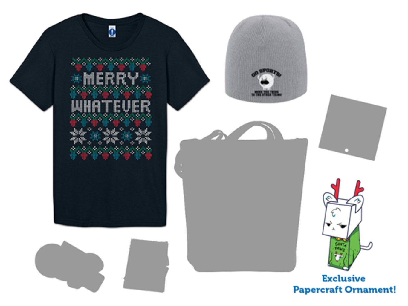 Woot!: Winter Crate & Ugly Sweater Tee!