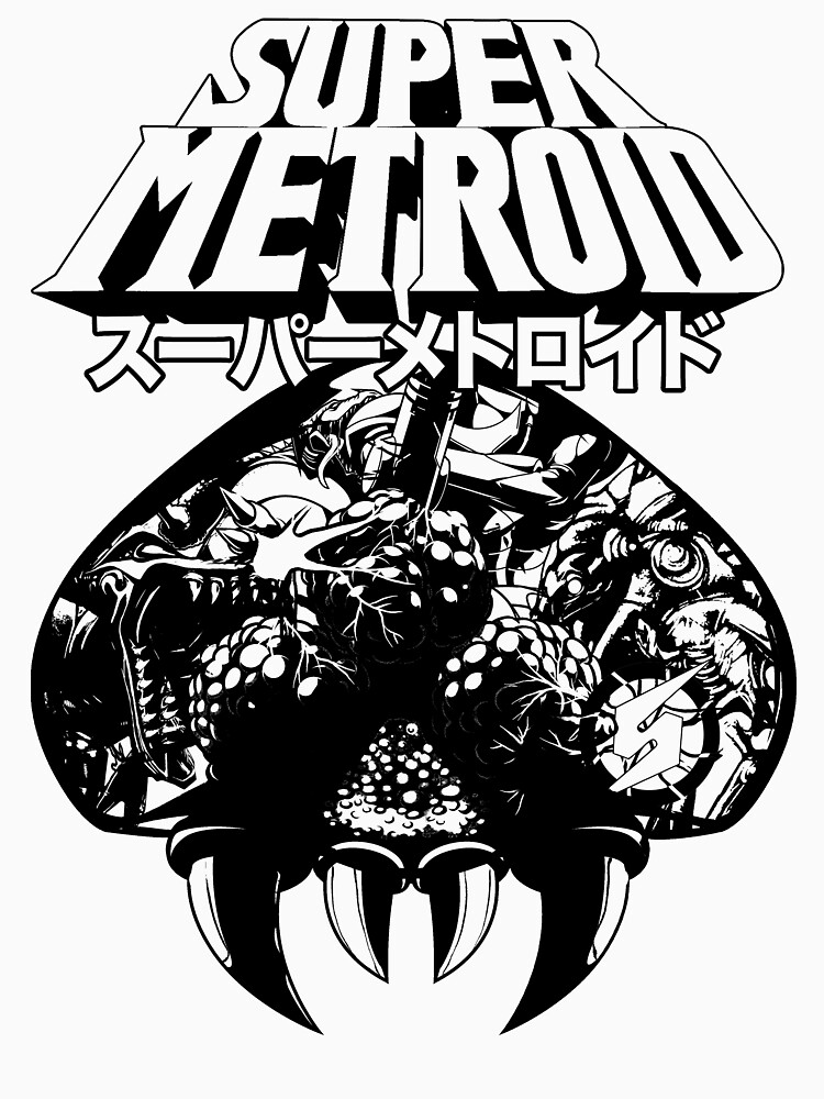RedBubble: Super Metroid (Japanese Classic Edition)