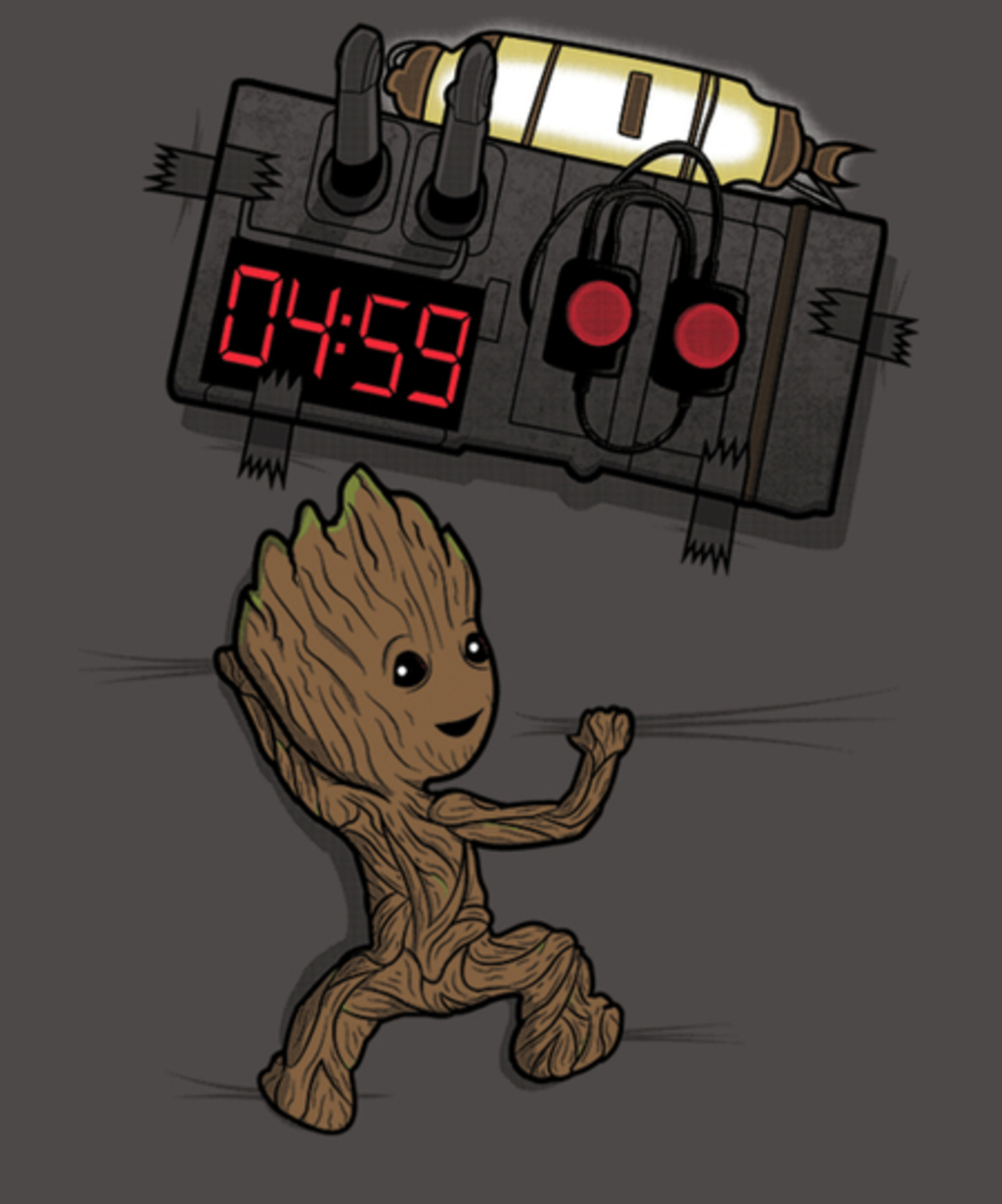 Qwertee: BOMB IN YOUR CHEST!