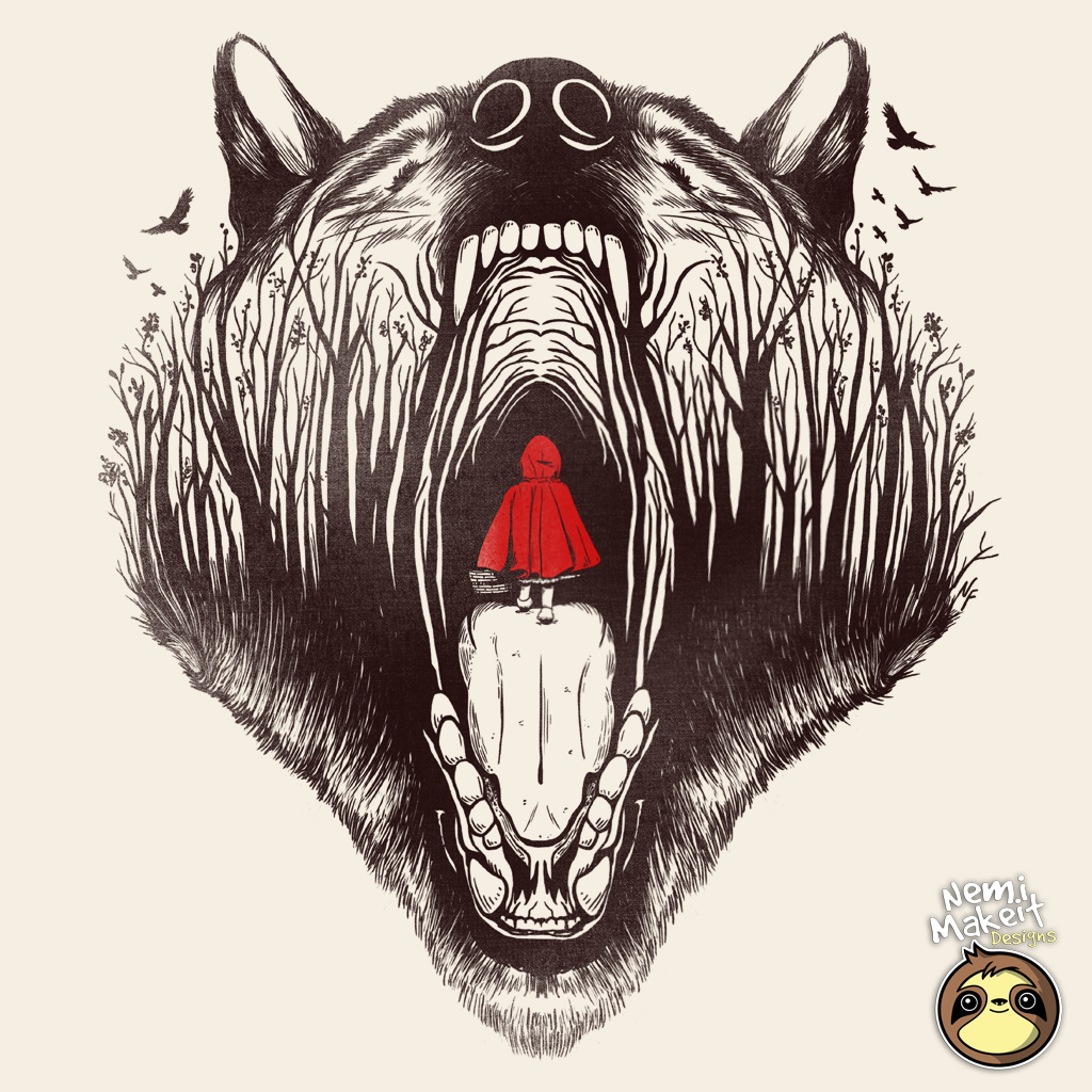 TeeTee: Little red riding hood