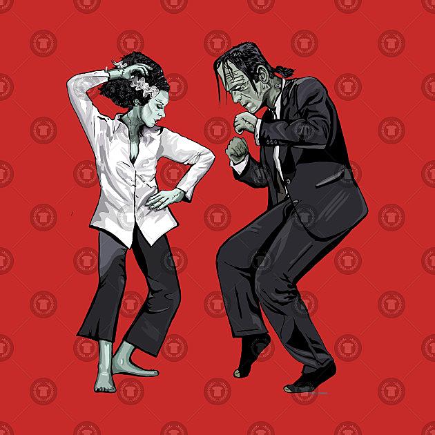 TeePublic: Pulp Frankenstein