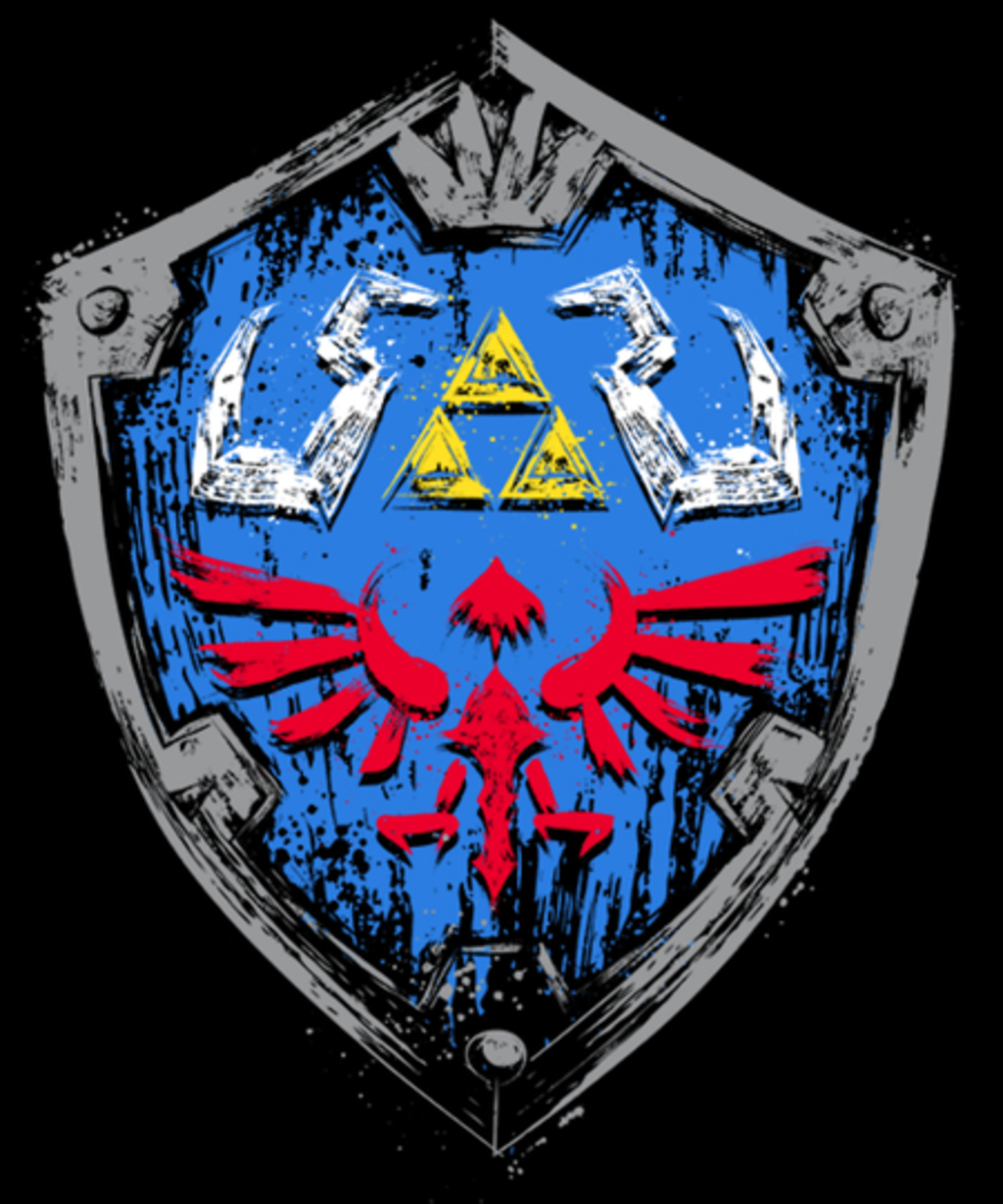 Qwertee: Hylian Shield