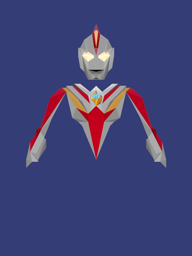 RedBubble: Ultraman Cosmos Future Mode (Low Poly)