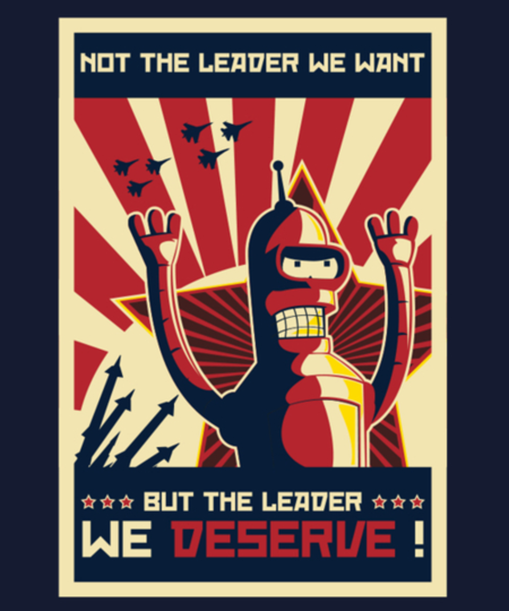 Qwertee: The Leader We Deserve