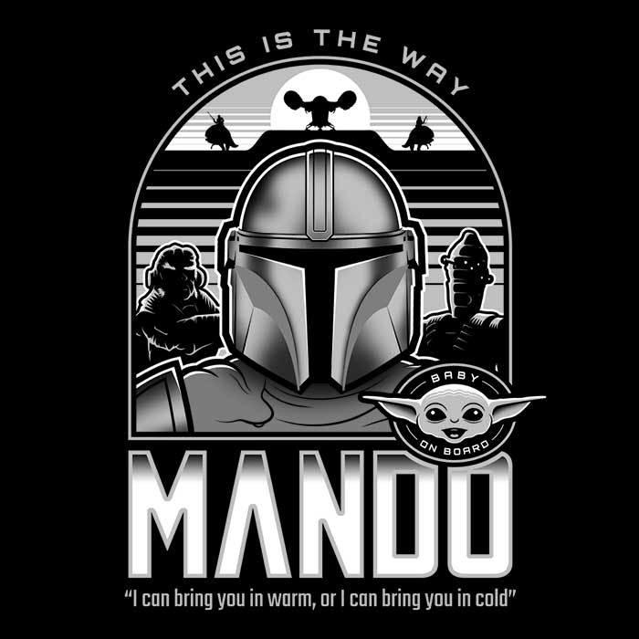 Once Upon a Tee: Mando and Friends