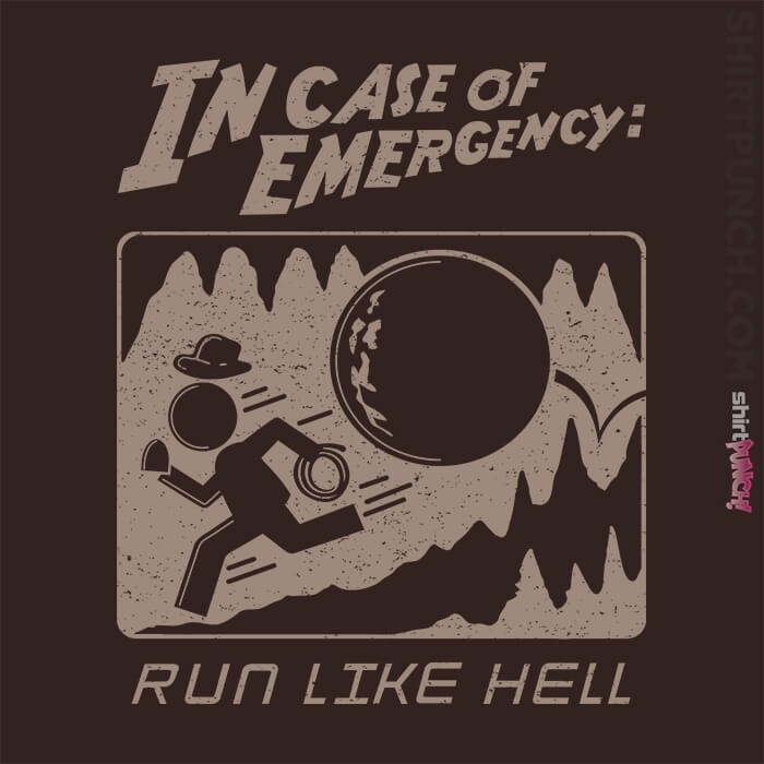 ShirtPunch: Indy Case Of Emergency