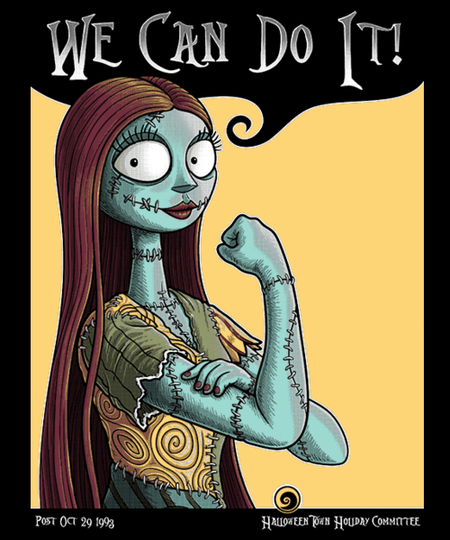Qwertee: Sally Can Do It!