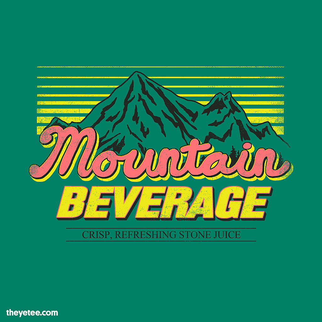The Yetee: Mountain Beverage