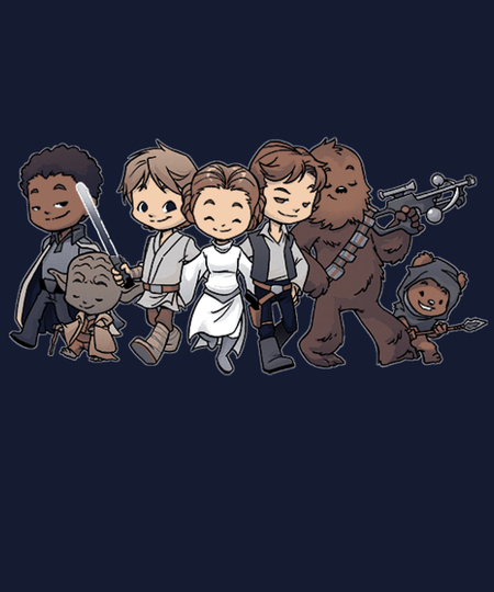 Qwertee: Rebel BFFs