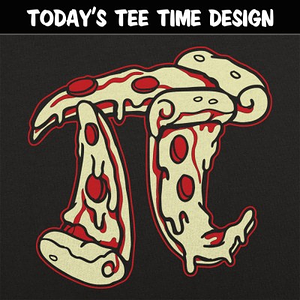 6 Dollar Shirts: Pizza Pi