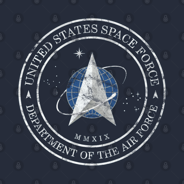 TeePublic: United States Space Force Vintage Official Logo