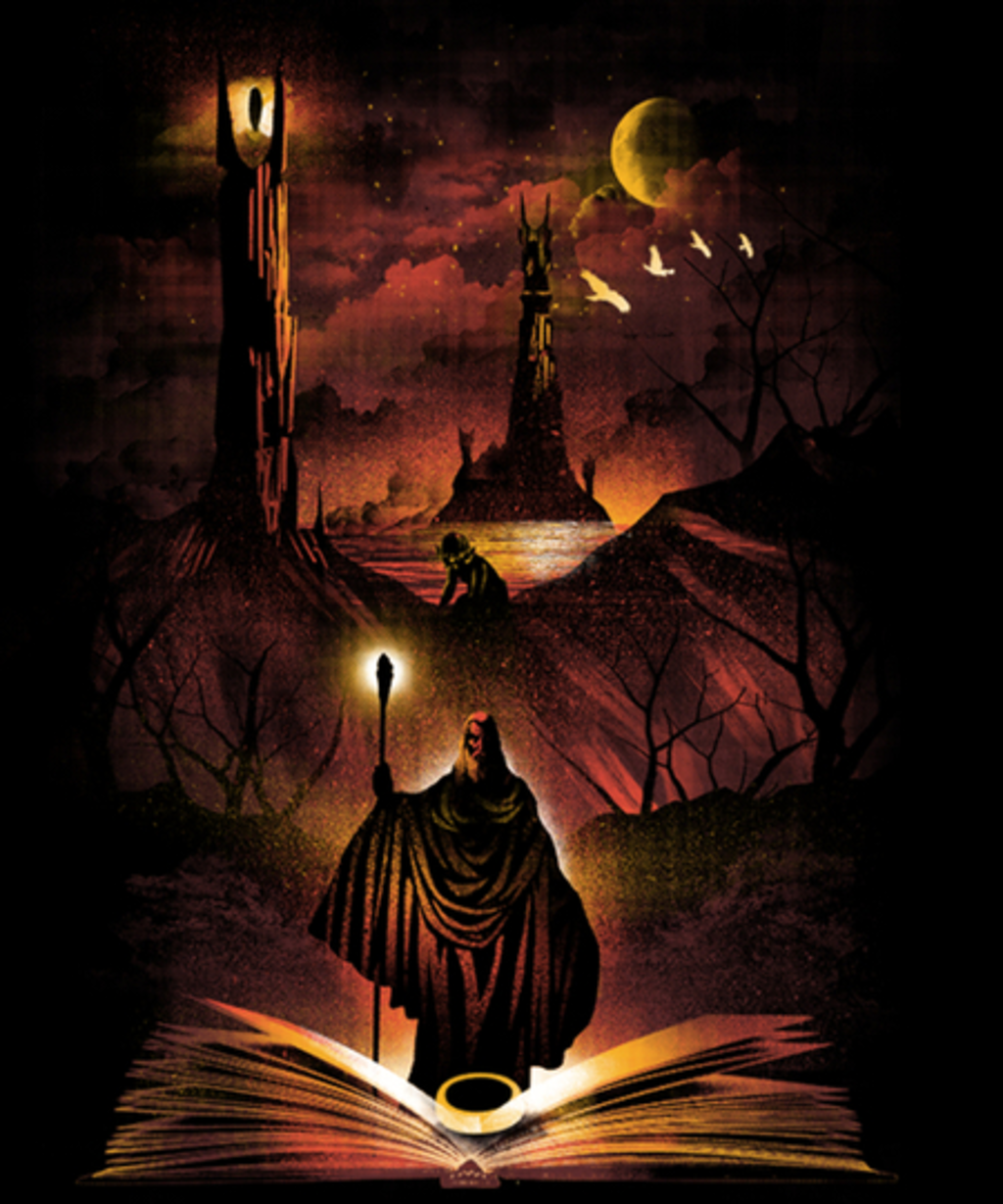 Qwertee: Book of Towers