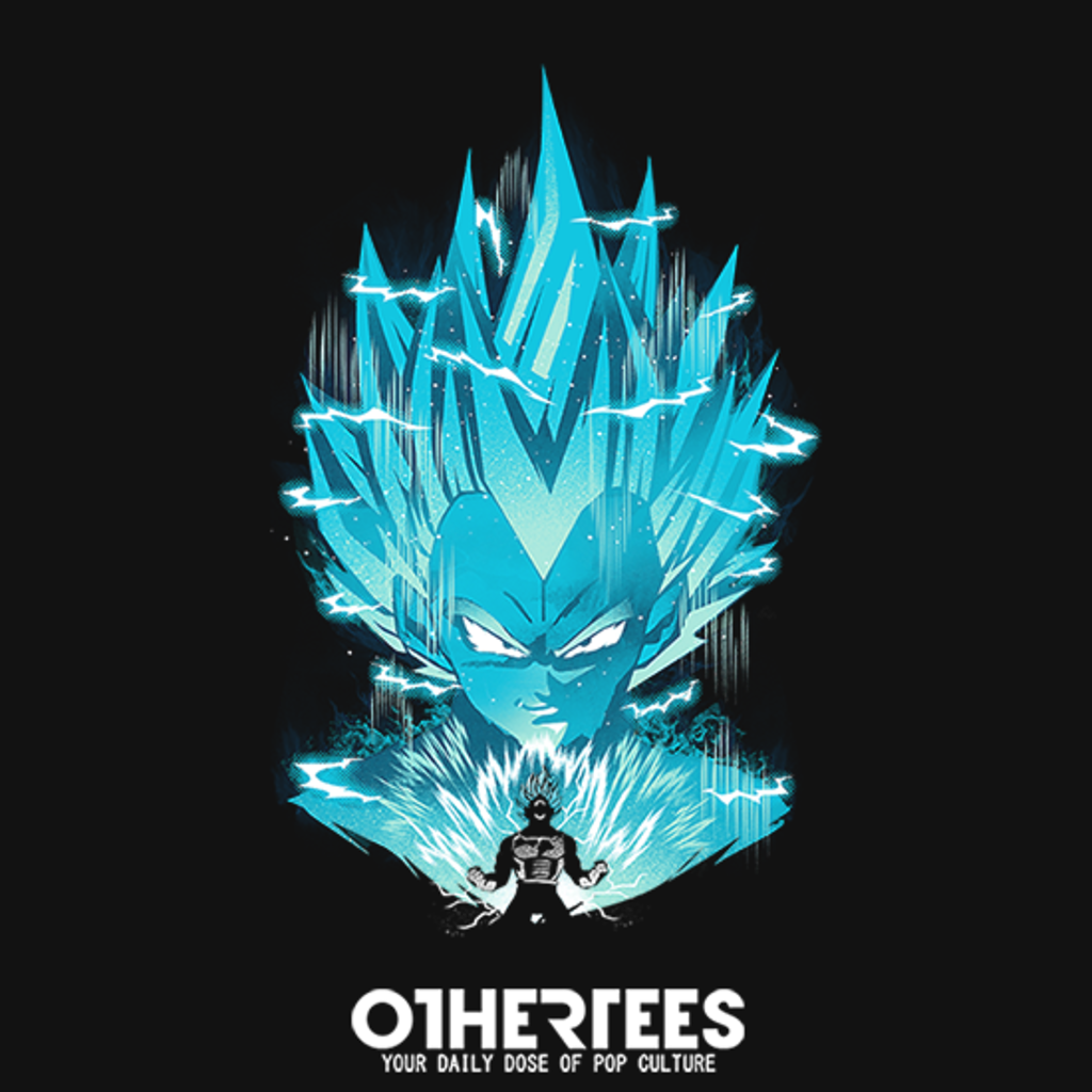 OtherTees: Super Saiyan Blue